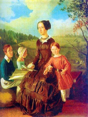 Хруцкий, Иван Фомич (Трофимович) Семейный портрет.( Энц. жи-си).jpg