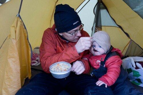 питание ребенка в походе