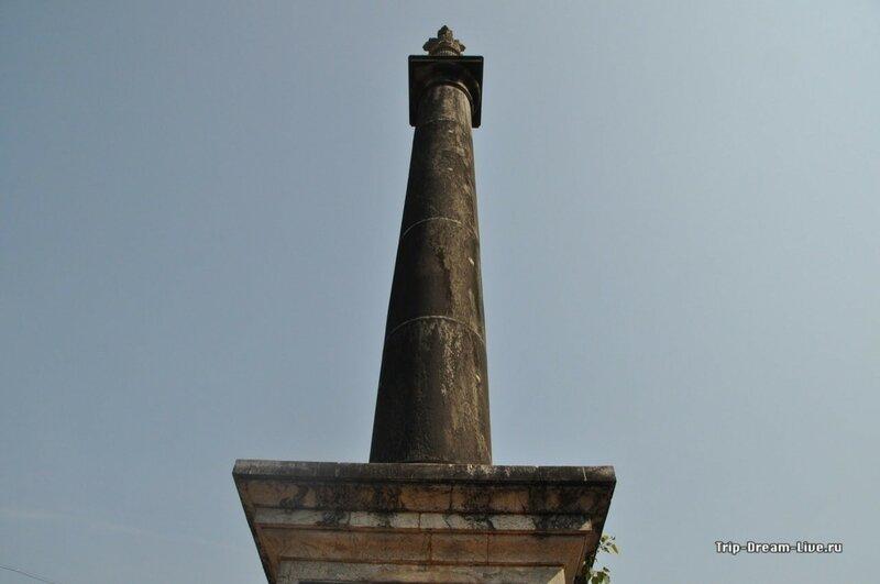 Колонна Ашоки в Пананджи