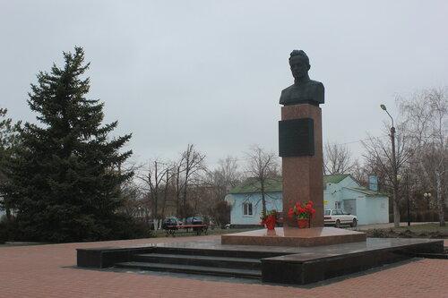 Бюст М.А. Шолохова