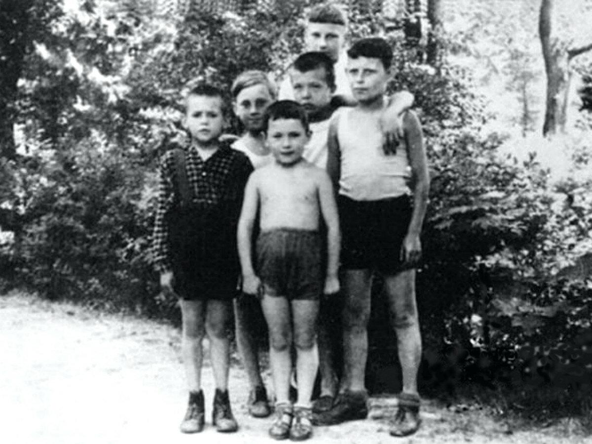 1948. Володя Высоцкий с друзьями в Бад-Эльстер (Германия)