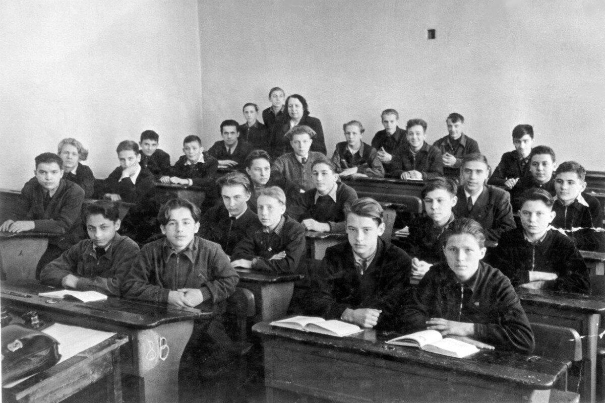1953. 8«в» класс Московской школы №186