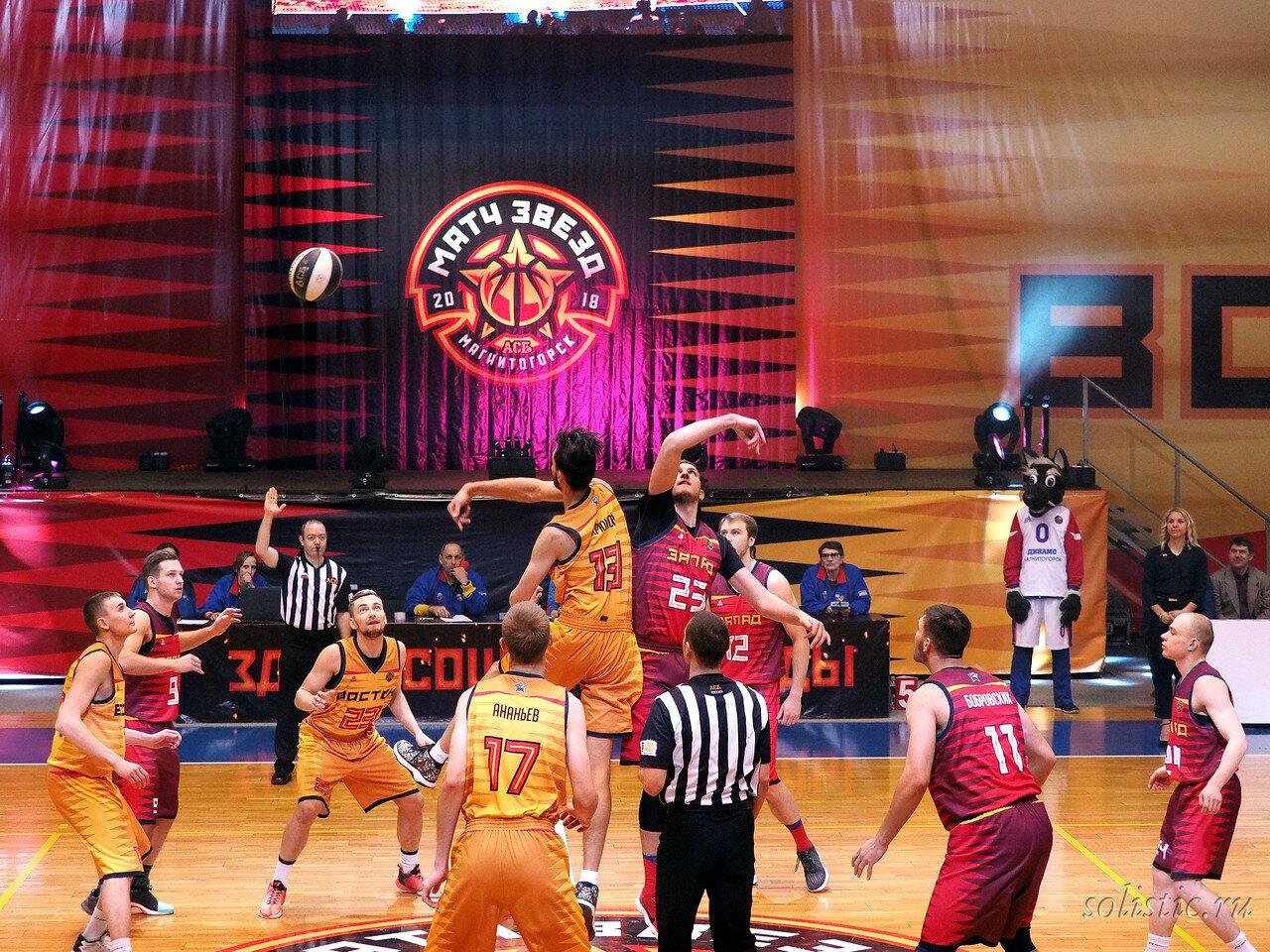 60 Матч звезд АСБ 2018 (ассоциации студенческого баскетбола)