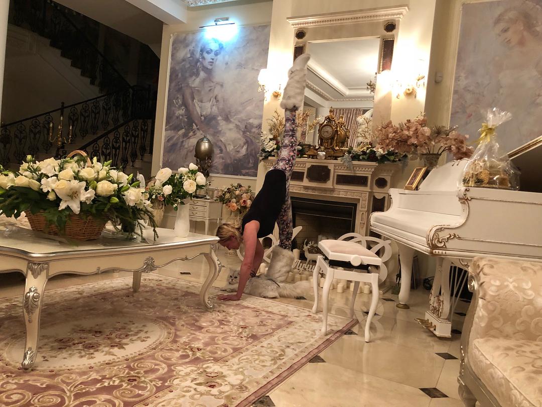 Анастасия Волочкова на Мальдивах Анастасия, 41летняя, российская, балерина, танцовщица, общественный, деятель, Волочкова, отдыхает, Мальдивах, Ранее, развлекалась