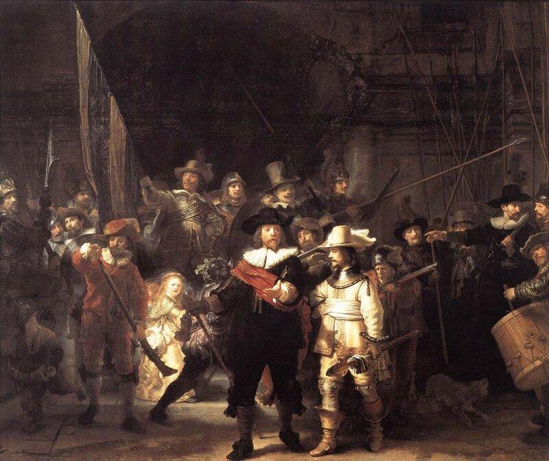 Ночной дозор, 1642.