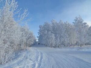 Зимняя дорога...