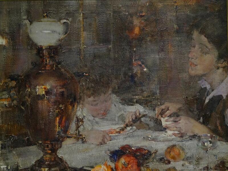 Н. Фешин Миссис Фешина с дочерью. 1925 Частная коллекция1.JPG