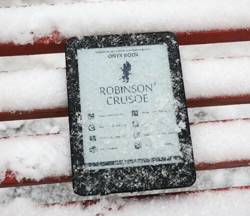 Климатические испытания Onyx Boox Robinson Crusoe 2