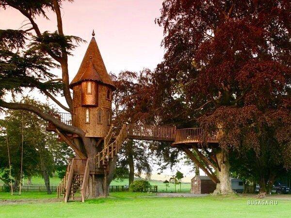 0 180198 d433ccc orig - Дом на дереве - кто о нем не мечтал в детстве?