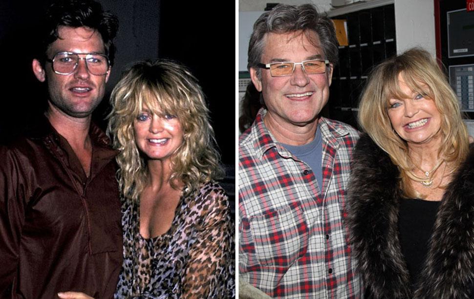 Курт Рассел и Голди Хоун, вместе 33 года.