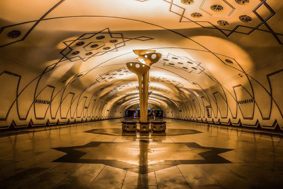 25. Станция Шахристанская: