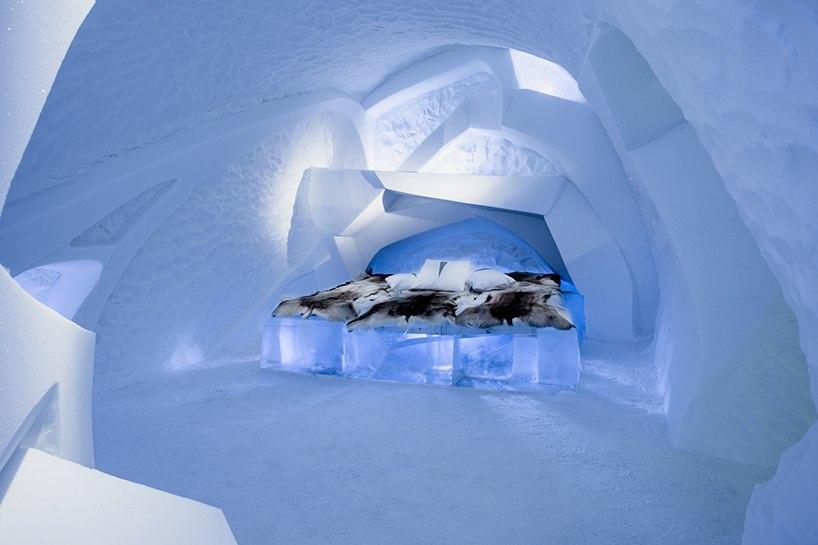 Знаменитый Ледяной отель в Лапландии (10 фото)