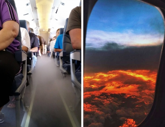 © dannyf124 / reddit  © Faxmaq / pikabu     Это штатная ситуация . Самолет может уй