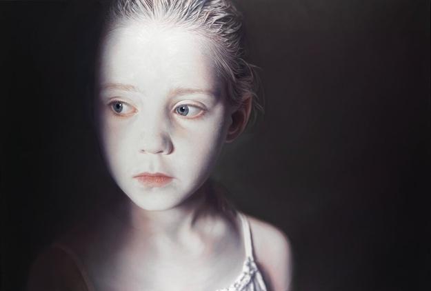 © helnwein.com    19. Franco Clun – Карандаш на акварельной бумаге