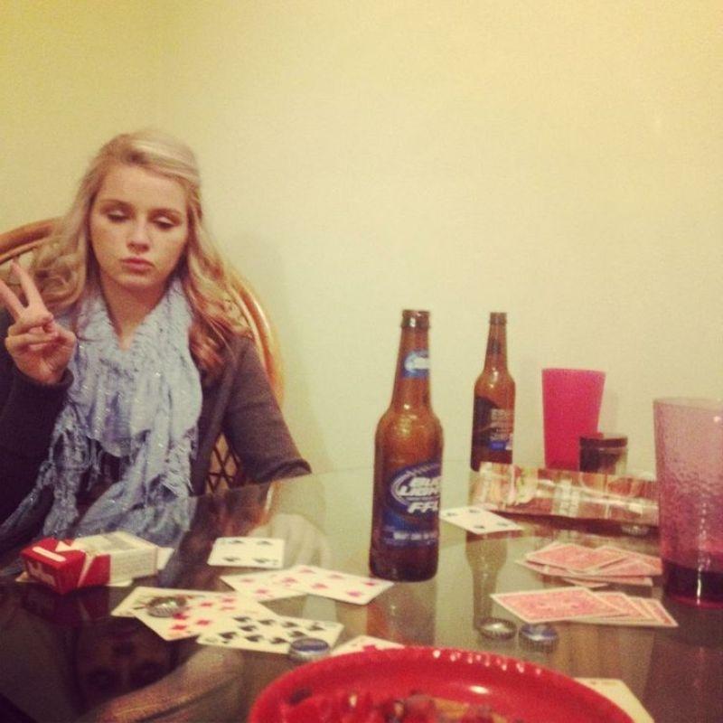 Девчонки и пивасик