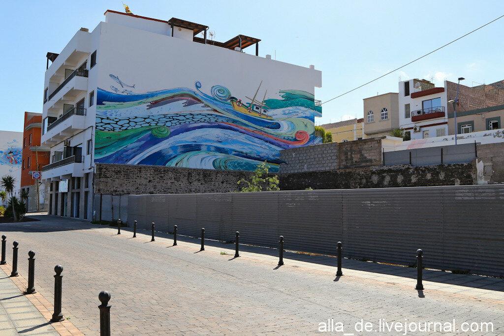 Канарский остров Fuerteventura. Gran Tarajal -