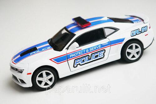 Машинка Kinsmart 2014 Chevrolet Camaro полиция