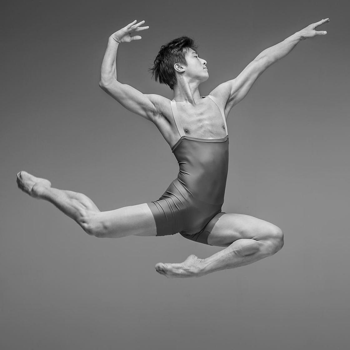 The incredible energy of dancers captured in slow motion