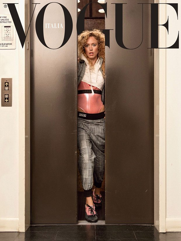 Raquel Zimmermann is the Cover Star of Vogue Italia November 2017