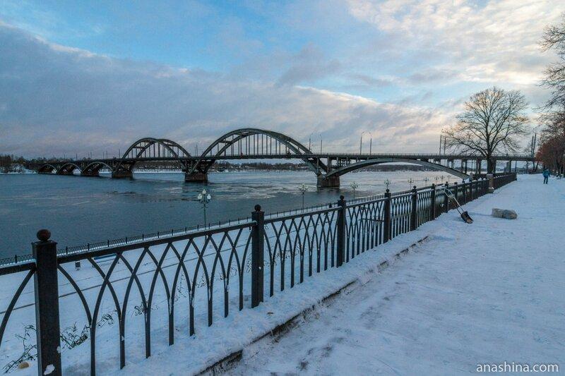Автомобильный мост через Волгу, Рыбинск