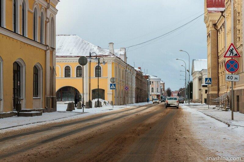 Волжская набережная, Рыбинск