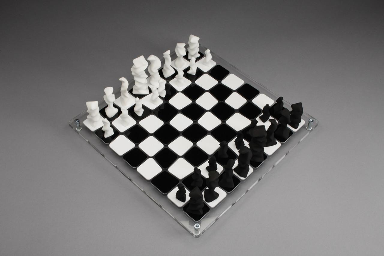 O esplendido design do jogo de xadrez