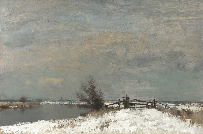 winter-by-the-thurn.Edward Brian Seago