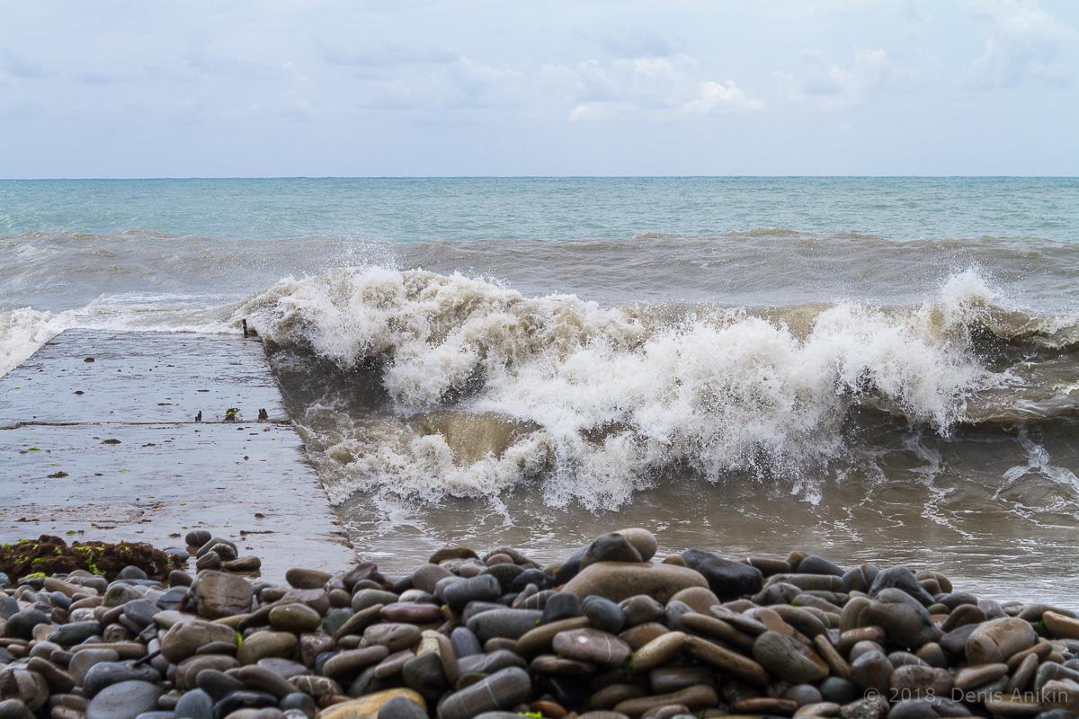 сочи черное море шторм фото 3