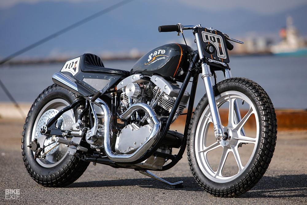 Sato Marine Cycle: кастом Harley-Davidson Shovelhead