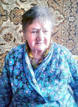 Елена Павловна Дьяконенко, жительница блокадного Ленинграда