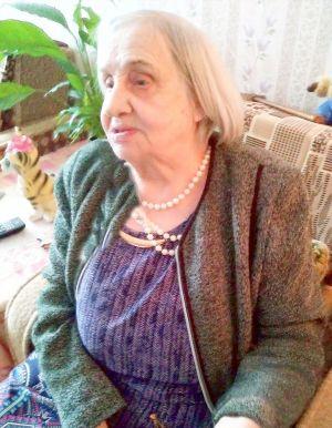 Тамара Григорьевна Сычёва, жительница блокадного Ленинграда