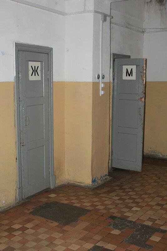 Туалеты на вокзале Бежецка