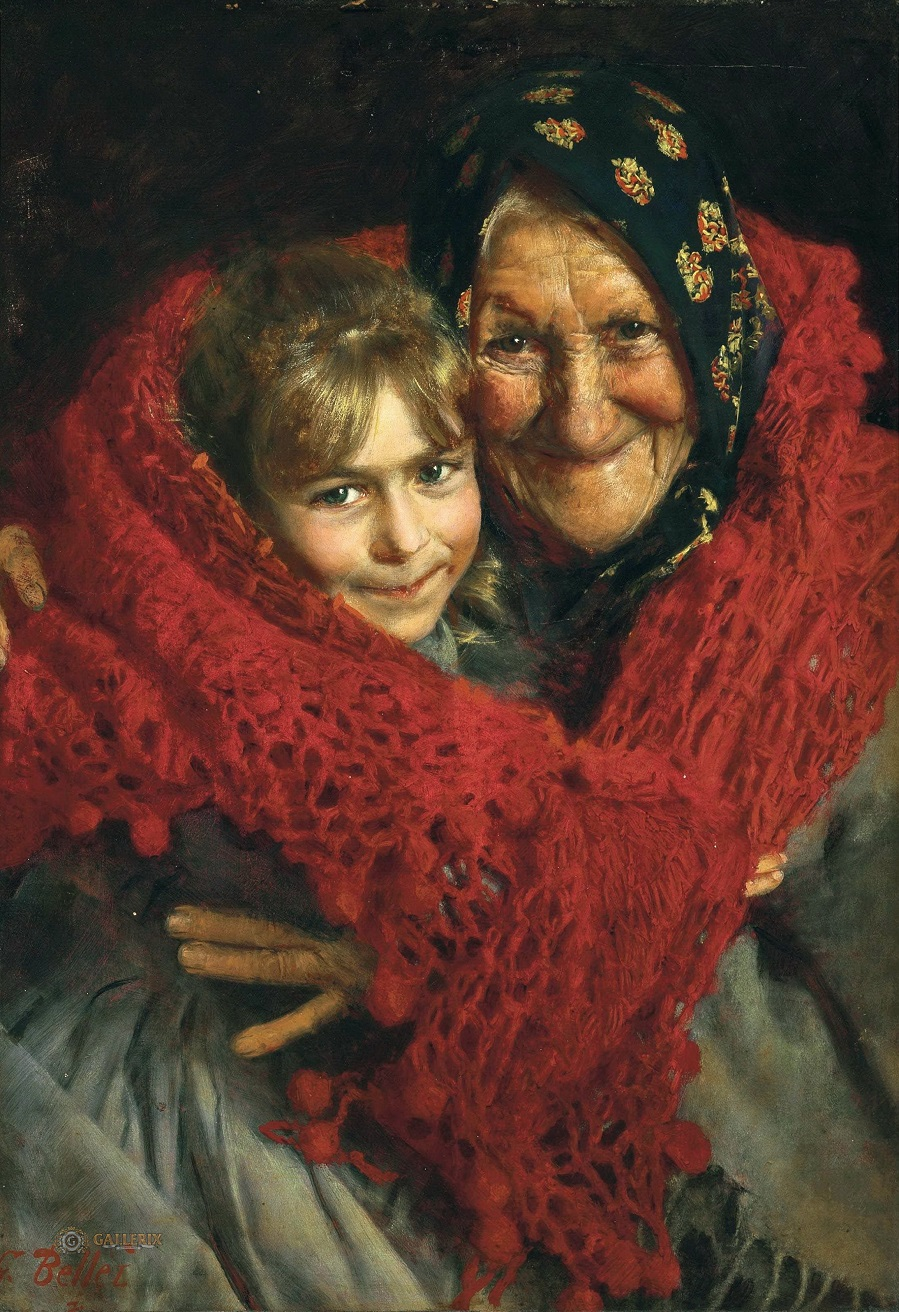 Grandmother and Child.