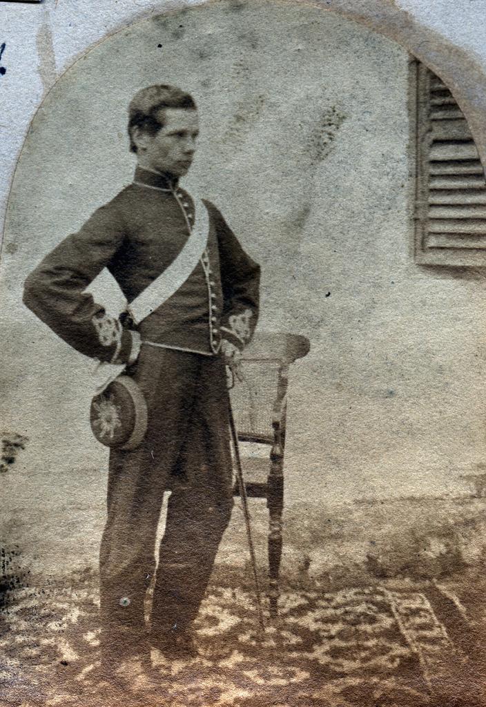 1855. Солдат армии Ост-Индской компании