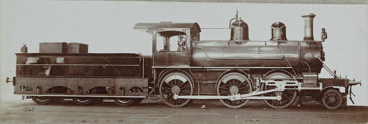 1898-1900. Локомотив № 15857 компании «Burnham, Williams A Co.» из Филадельфии