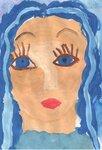 Кузнецова Катя (рук. Богачева Марина Вадимовна) - Портрет Зимы