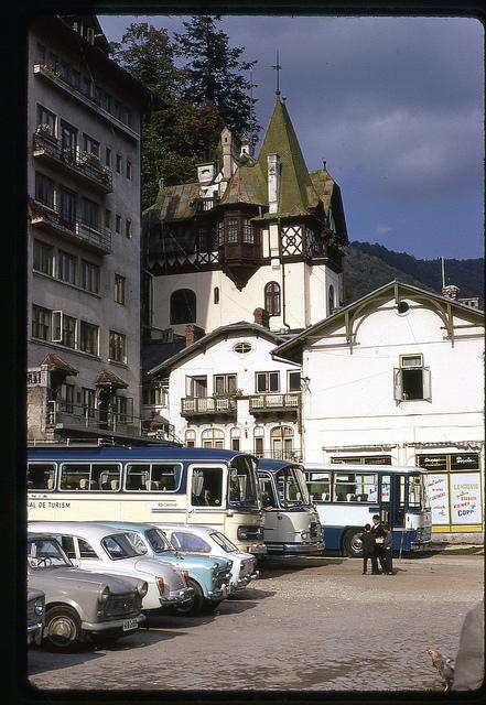 Oct 71 - 18 [Sinaia, Romania, near alace Hotel]