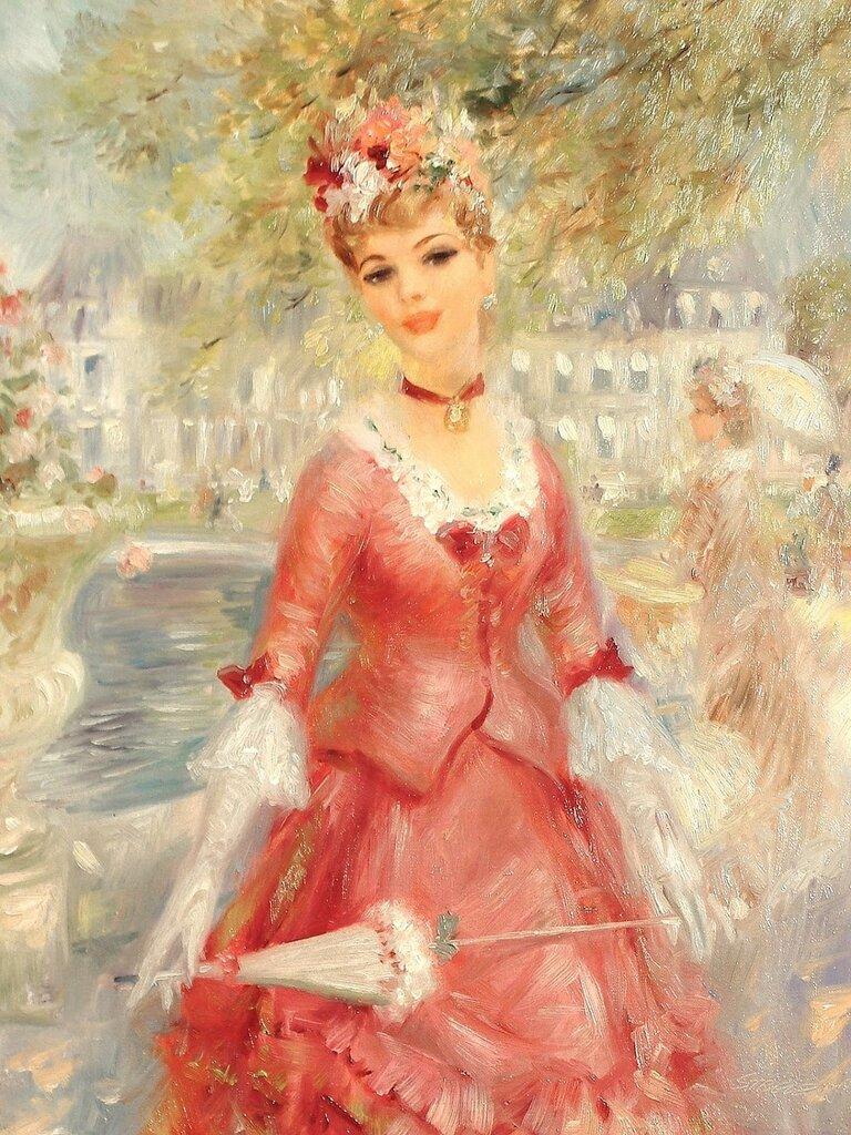 Красное платье (La robe rouge)_46.5 х 35.5_х.,м._Частное собрание.jpg