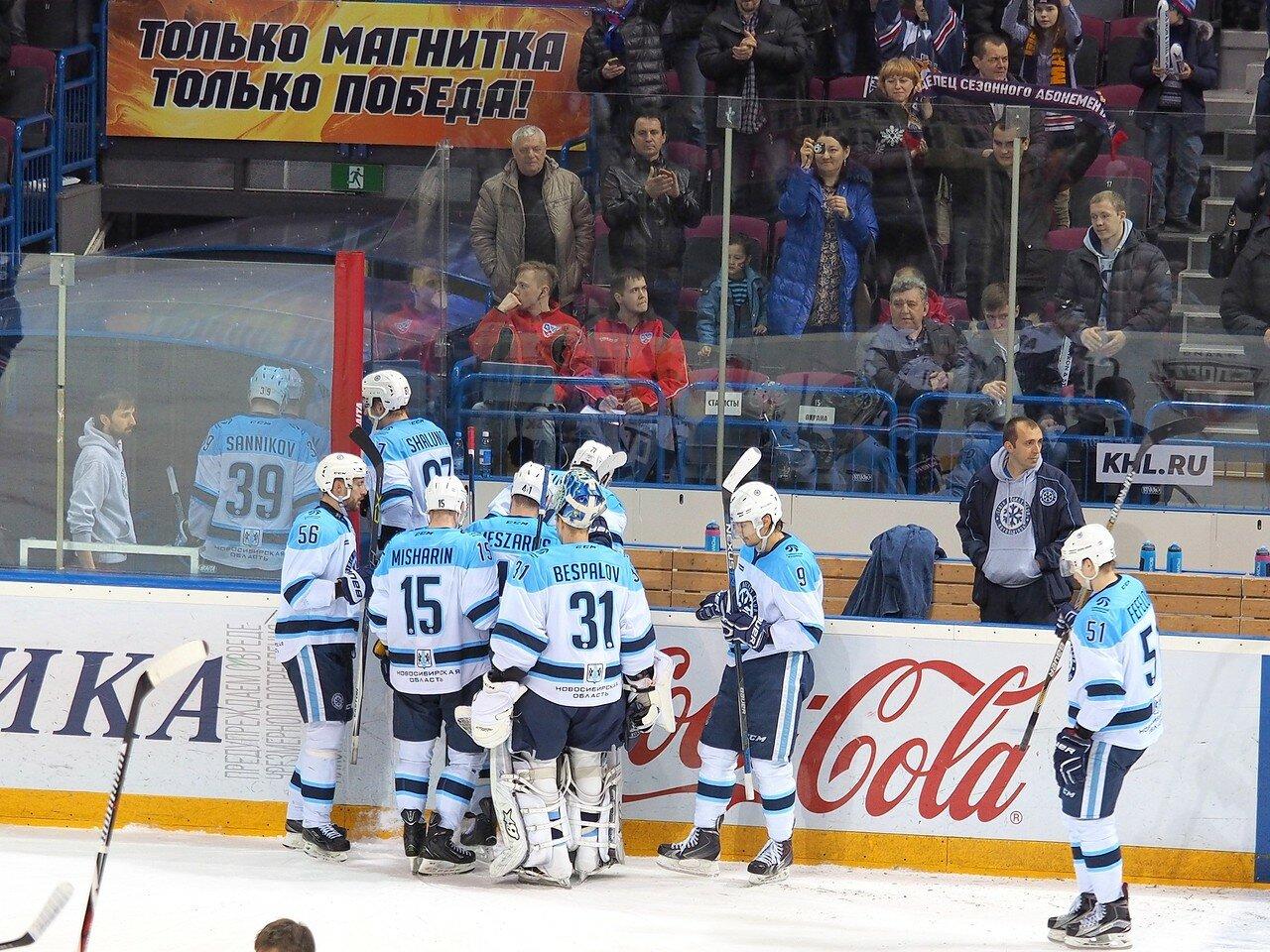 135Восток 1/2 плей-офф Металлург - Сибирь 08.03.2016