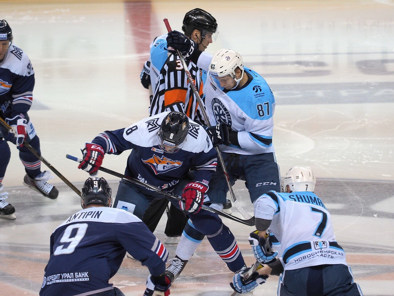 78Плей-офф 2016 Восток 1/2 Металлург - Сибирь 10.03.2016