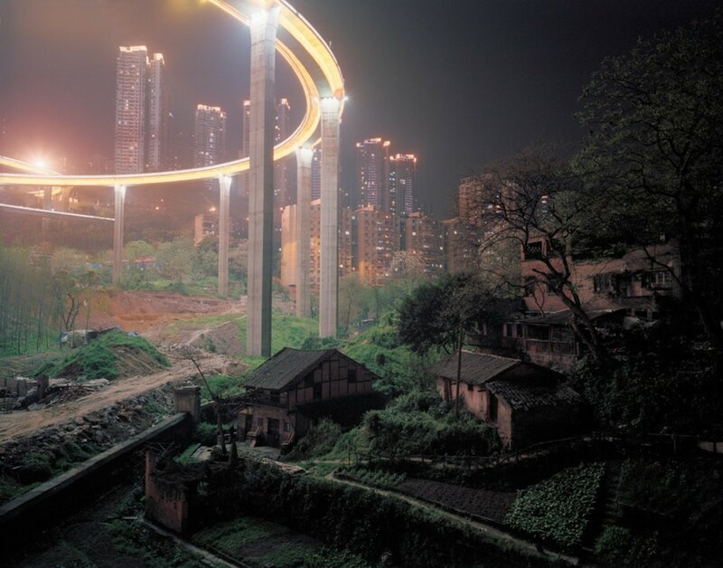 Поселок городского типа на окраине города Чунцин, рядом с мостом Цайюаньба.jpg