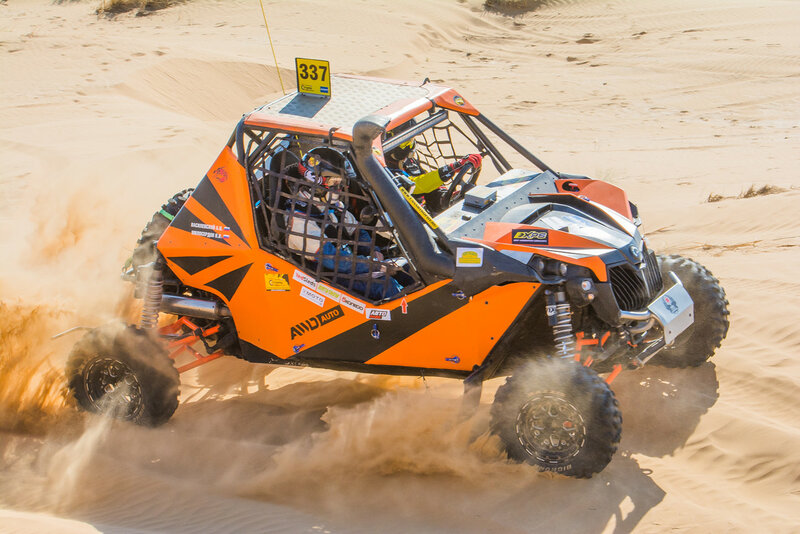 Can-Am Trophy Russia 2015 в Астрахани: Квадрогонка — Бархан «Большой Брат»