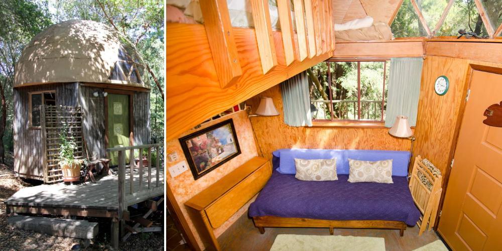 Домик-гриб: самый популярный объект, сдаваемого в аренду на Airbnb