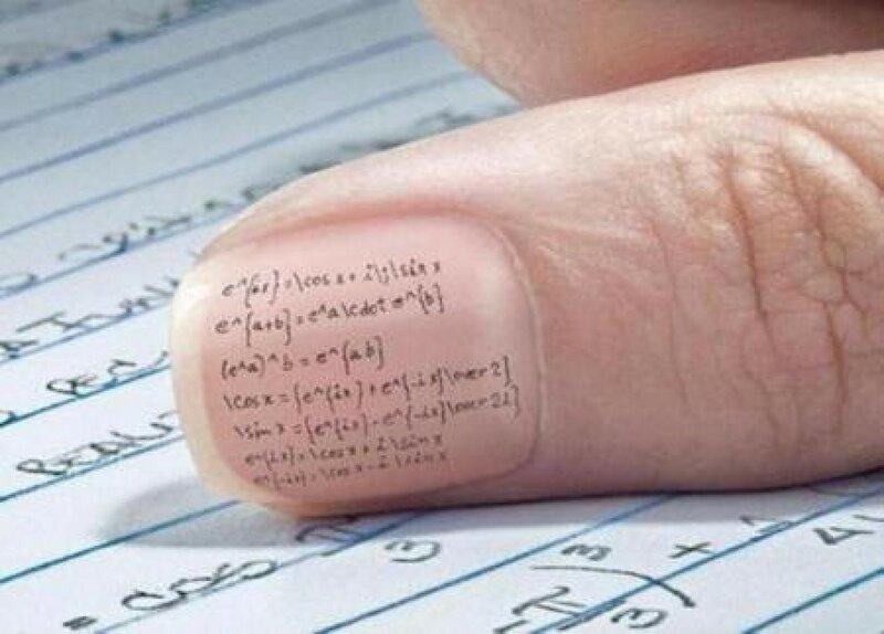 Как сделать? 10 надёжных шпаргалок для студентов (фото)