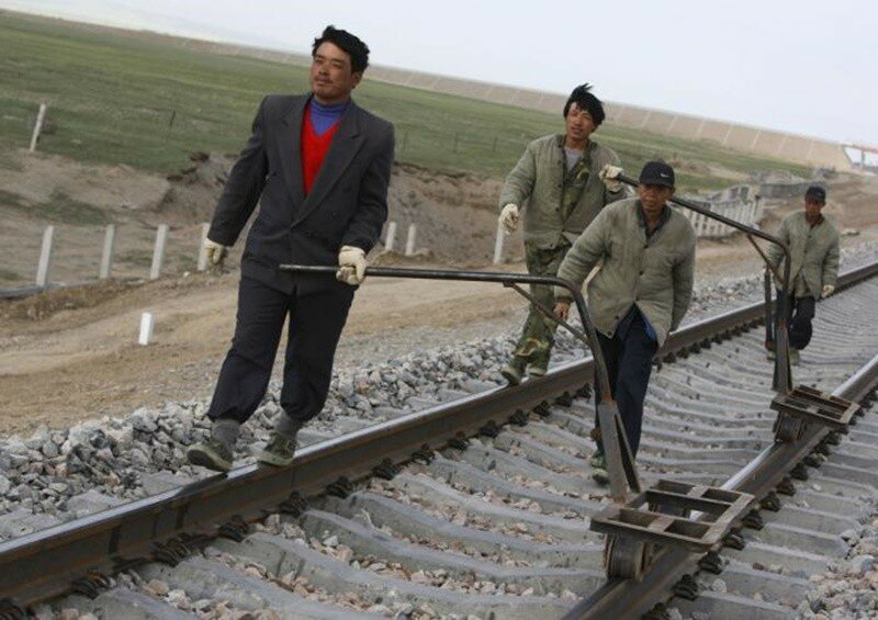 Рождение и жизнь китайской железной дороги