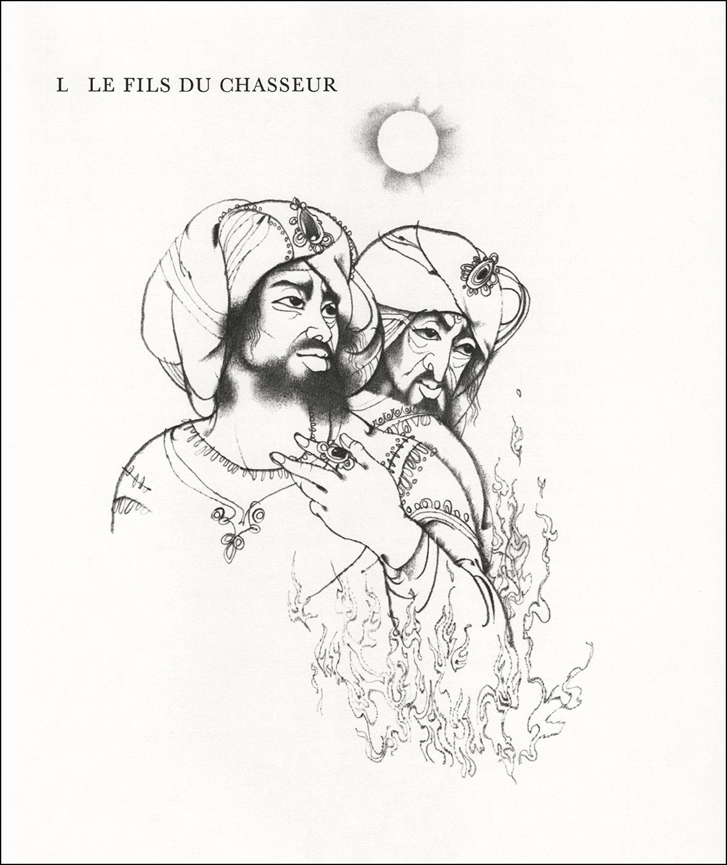 Ludek Manasek, Contes persans