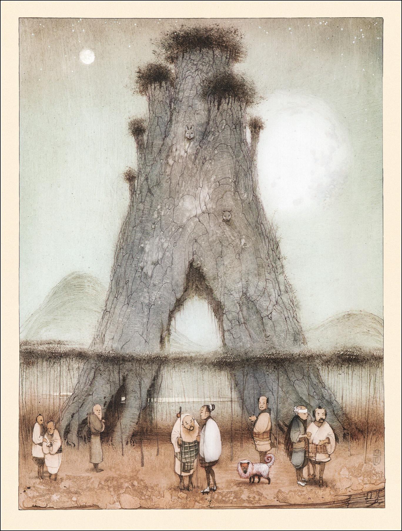 К. Челушкин, Японские сказки