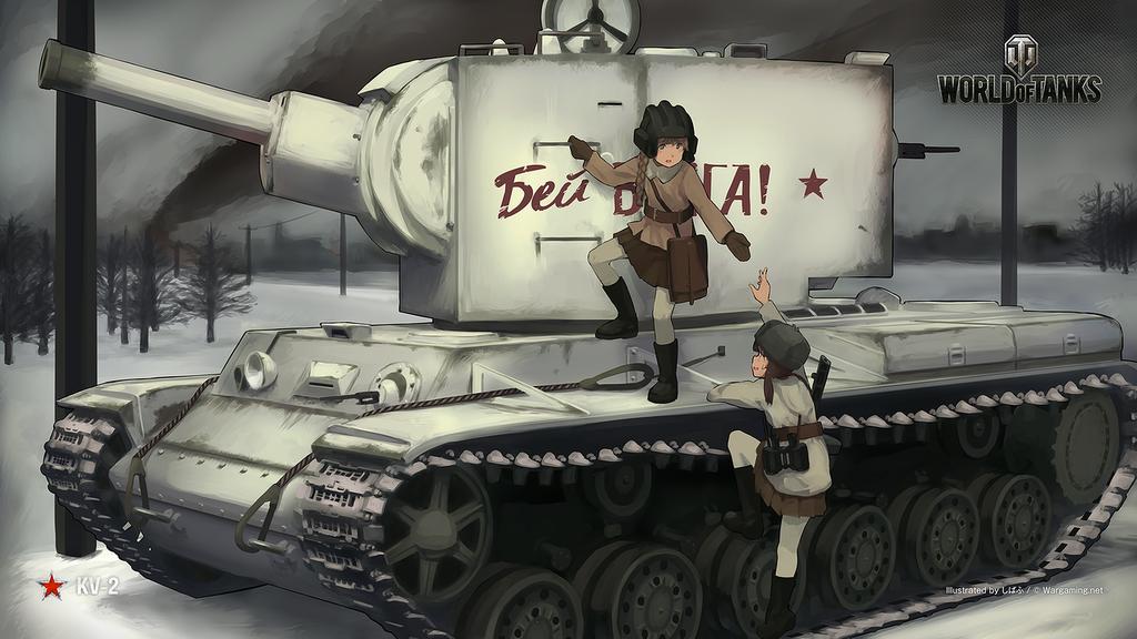 戦場の華 feat.しばふ #8: KV-2
