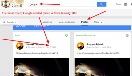В Google+ не работает поиск по фотографиям