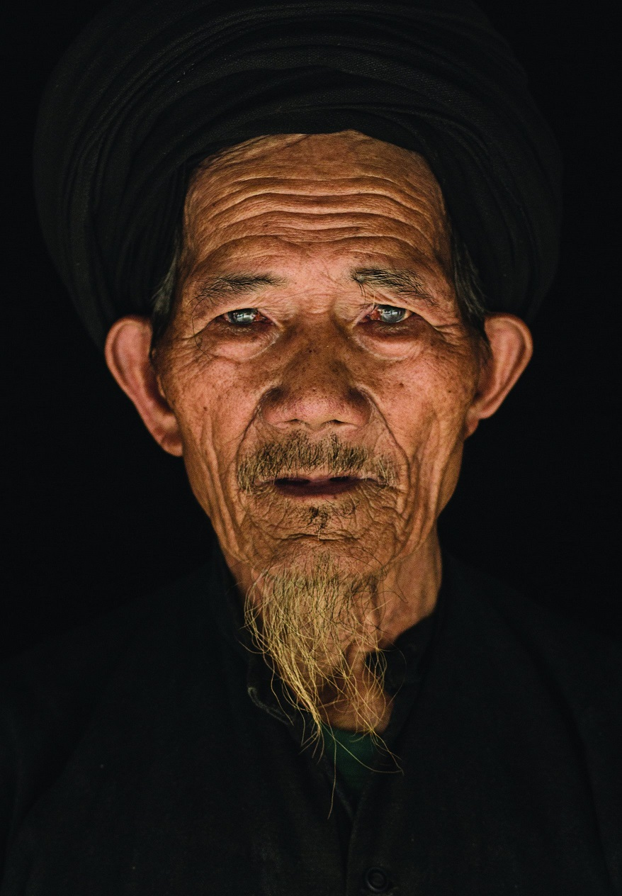 Портрет жителя деревни Бах Ха.